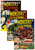 Bronze Age (1970-1979):Horror, Monsters on the Prowl Group (Marvel, 1971) Condition: AverageVF/NM.... (Total: 6 Comic Books)