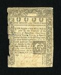 Colonial Notes:Connecticut, Connecticut March 1, 1780 1s/3d Fine-Very Fine CC....