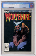 Modern Age (1980-Present):Superhero, Wolverine (Limited Series) #3 (Marvel, 1982) CGC NM/MT 9.8Off-white to white pages....