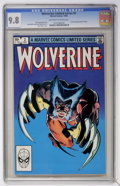 Modern Age (1980-Present):Superhero, Wolverine (Limited Series) #2 (Marvel, 1982) CGC NM/MT 9.8Off-white to white pages....