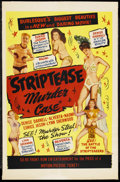 "Movie Posters:Sexploitation, The Striptease Murder Case (Classic Pictures, 1950). One Sheet (27""X 41""). Sexploitation. ..."