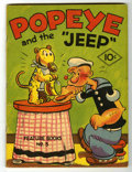 "Platinum Age (1897-1937):Miscellaneous, Feature Books #3 Popeye and the ""Jeep"" (David McKay, 1937)Condition: VG/FN...."
