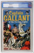 Golden Age (1938-1955):War, Captain Gallant #1 (Charlton, 1955) CGC NM+ 9.6 Off-white to whitepages....