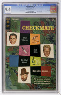 Silver Age (1956-1969):Mystery, Checkmate #1 File Copy (Gold Key, 1962) CGC NM 9.4 Off-white towhite pages....