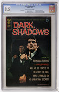 Silver Age (1956-1969):Horror, Dark Shadows #1 (Gold Key, 1969) CGC VF+ 8.5 Cream to off-whitepages....