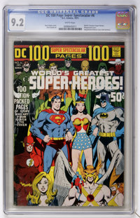 DC 100-Page Super Spectacular #6 (DC, 1971) CGC NM- 9.2 White pages