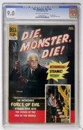 Silver Age (1956-1969):Horror, Movie Classics - Die, Monster, Die #nn (Dell, 1966) CGC VF/NM 9.0Off-white to white pages....