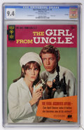 Silver Age (1956-1969):Adventure, Girl From U.N.C.L.E. #1 File Copy (Gold Key, 1967) CGC NM 9.4 Off-white pages....