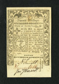 Colonial Notes:Rhode Island, Rhode Island May 1786 20s Very Choice New....