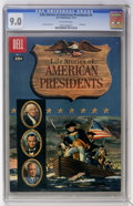 Silver Age (1956-1969):Miscellaneous, Dell Giant Comics: Life Stories of American Presidents #1 (Dell,1957) CGC VF/NM 9.0 Off-white pages....