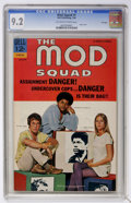 Mod Squad #1 File Copy (Dell, 1969) CGC NM- 9.2 Off-white pages