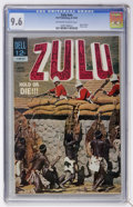 Silver Age (1956-1969):Adventure, Movie Classics: Zulu #nn (Dell, 1964) CGC NM+ 9.6 Off-white to white pages....