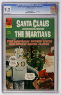 Silver Age (1956-1969):Science Fiction, Movie Classics: Santa Claus Conquers the Martians #nn Pacific Coastpedigree (Dell, 1966) CGC NM- 9.2 Off-white to white pages...