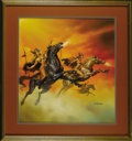 "Original Comic Art:Covers, Boris Vallejo - ""The Valkyries"" Painting Original Art (1987). ..."