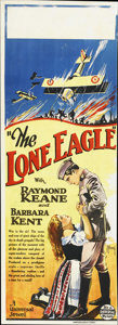 "Movie Posters:War, The Lone Eagle (Universal, 1927). Australian Daybill (15"" X 40"")...."