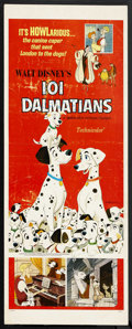 "Movie Posters:Animated, 101 Dalmatians (Buena Vista, R-1969). Insert (14"" X 36""). Animated. Starring the voices of Rod Taylor, Betty Lou Gerson, Cat..."