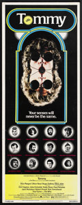 "Movie Posters:Rock and Roll, Tommy (Columbia, 1975). Insert (14"" X 36""). Rock and Roll. StarringRoger Daltrey, Ann-Margret, Oliver Reed, Elton John, Eri..."