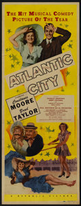 """Movie Posters:Musical, Atlantic City (Republic, 1944). Insert (14"""" X 36""""). Musical. Starring Constance Moore, Brad Taylor, Charley Grapewin, Jerry ..."""