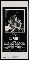 "Movie Posters:Academy Award Winner, The Godfather Part II (Paramount, 1974). Italian Locandina (13"" X27""). Academy Award Winner. Starring Al Pacino, Robert De ..."