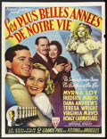 "Movie Posters:Academy Award Winner, The Best Years of Our Lives (RKO, 1946). Belgian (14"" X 18.5"").Academy Award Winner. Starring Myrna Loy, Dana Andrews, Virg..."