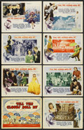 "Movie Posters:Musical, Till the Clouds Roll By (MGM, 1946). Lobby Card Set of 8 (11"" X14""). Musical. Starring June Allyson, Judy Garland, Kathryn ..."