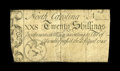 Colonial Notes:North Carolina, North Carolina April 4, 1748 20s Fine-Very Fine....