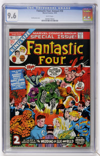 Fantastic Four Annual #10 (Marvel, 1973) CGC NM+ 9.6 White pages