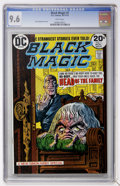 Golden Age (1938-1955):Horror, Black Magic #1 (DC, 1973) CGC NM+ 9.6 White pages....