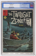 Silver Age (1956-1969):Adventure, Four Color #1173 Twilight Zone (Dell, 1961) CGC VF+ 8.5 Cream to off-white pages....
