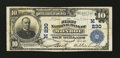 National Bank Notes:Wisconsin, Monroe, WI - $10 1902 Plain Back Fr. 624 The First NB Ch. # (M)230. ...