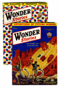 Pulps:Science Fiction, Wonder Stories June and November 1932 Group (Standard, 1932)Condition: Average VG.... (Total: 2 Comic Books)