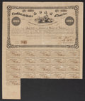 Confederate Notes:Group Lots, Ball 95 Cr. 93 $1000 Bond 1861 Very Fine.. ...