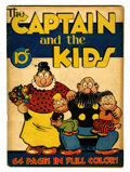 Golden Age (1938-1955):Miscellaneous, Single Series #1 The Captain and the Kids (United Features Syndicate, 1938) Condition: VG....
