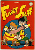 Golden Age (1938-1955):Funny Animal, Funny Stuff #17 (DC, 1947) Condition: VF/NM....