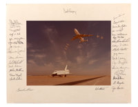 Space Shuttle Enterprise Photo Signed by Thirty-Four Astronauts Directly from the Personal C