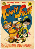 Golden Age (1938-1955):Humor, Funny Stuff #1 Library of Congress copy (DC, 1944) Condition: FN-....