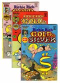 Bronze Age (1970-1979):Cartoon Character, Richie Rich Gold and Silver #1-42 File Copy Group (Harvey, 1975-82) Condition: Average NM-.... (Total: 42 Comic Books)