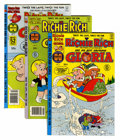 Bronze Age (1970-1979):Cartoon Character, Richie Rich and Gloria Plus File Copy Group (Harvey, 1970s)Condition: Average NM-.... (Total: 39 Comic Books)
