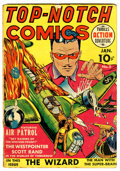 Golden Age (1938-1955):War, Top-Notch Comics #2 (MLJ, 1940) Condition: GD/VG....