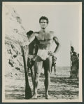 "Movie Posters:Adventure, Steve Reeves in ""The Giant of Marathon"" (MGM, 1960). Portrait (8"" X10""). Adventure.. ..."