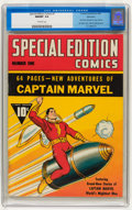 Golden Age (1938-1955):Superhero, Special Edition Comics #1 Allentown pedigree (Fawcett, 1940) CGC NM/MT 9.8 Off-white pages....