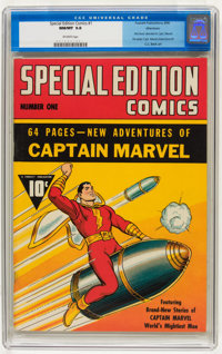 Special Edition Comics #1 Allentown pedigree (Fawcett, 1940) CGC NM/MT 9.8 Off-white pages
