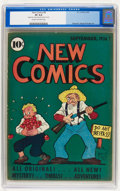 Golden Age (1938-1955):Humor, New Comics #8 (DC, 1936) CGC VF 8.0 Cream to off-white pages....
