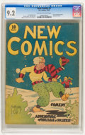 Platinum Age (1897-1937):Miscellaneous, New Comics #1 (DC, 1935) CGC NM- 9.2 Off-white to white pages....