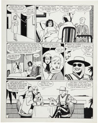 Jaime Hernandez Love and Rockets #8, page 5 Original Art (Fantagraphics, 1984)