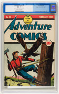 Golden Age (1938-1955):Adventure, Adventure Comics #35 Mile High pedigree (DC, 1939) CGC NM- 9.2 Off-white to white pages....