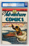 Golden Age (1938-1955):Adventure, New Adventure Comics #31 Mile High pedigree (DC, 1938) CGC NM+ 9.6 Off-white to white pages....