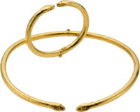 Gold Jewelry Suite, Lalaounis, Greek