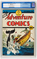 Golden Age (1938-1955):Adventure, New Adventure Comics #30 Mile High pedigree (DC, 1938) CGC NM+ 9.6 Off-white to white pages....
