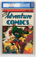 Golden Age (1938-1955):Adventure, New Adventure Comics #29 Mile High pedigree (DC, 1938) CGC NM+ 9.6 Off-white to white pages....